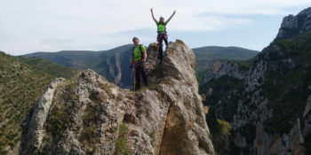 Guiajes de escalada